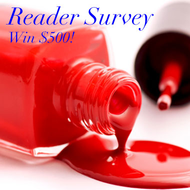 Take our 2014 NAILPRO Reader Survey for a chance to win $500 cash!