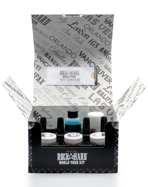 Win the Artistic Nail Design Rock Hard World Tour Kit!