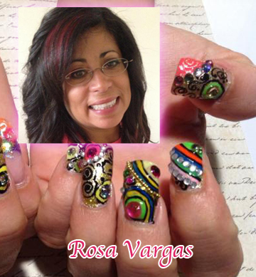 """Nail Artist Q&A: """"Nailed Down!"""" with Rosa Vargas!"""