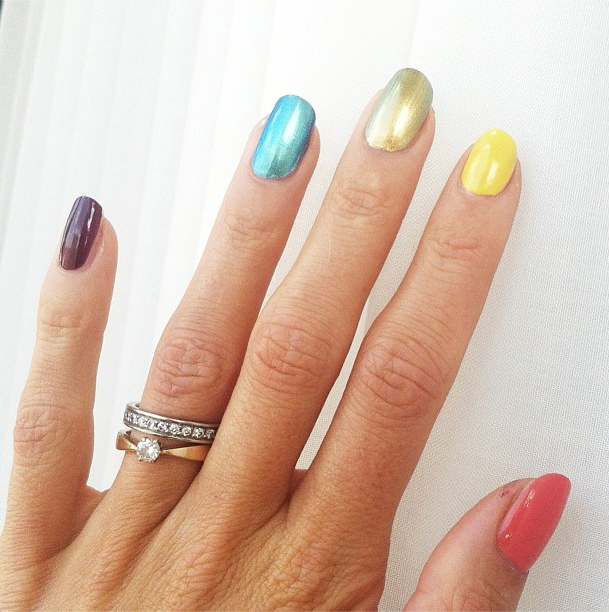 Nail News: Illegal Rainbow Nail Art in Russia, Hailee