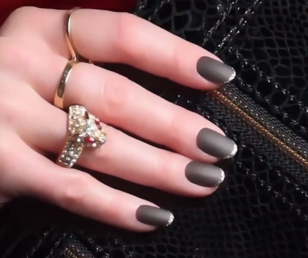 Nail Art Tutorial: OPI Midnight French
