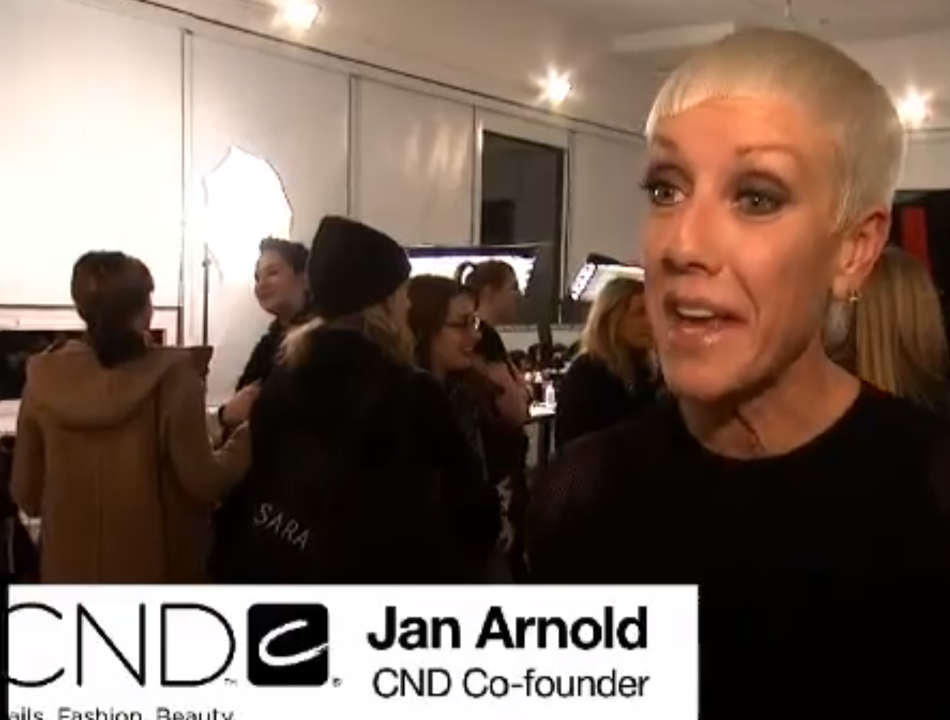 Behind The Scenes With CND At The Blonds
