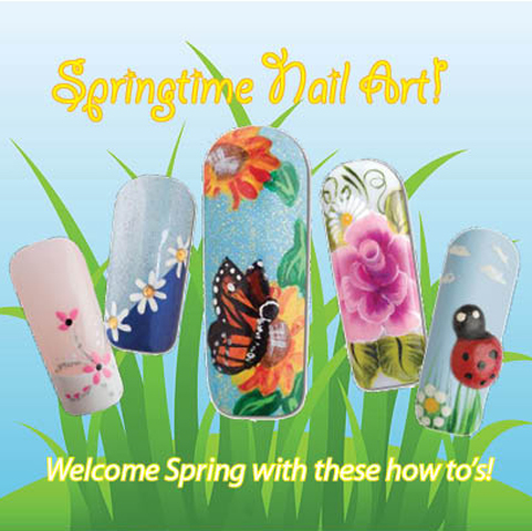 Nail Art How To: Springtime