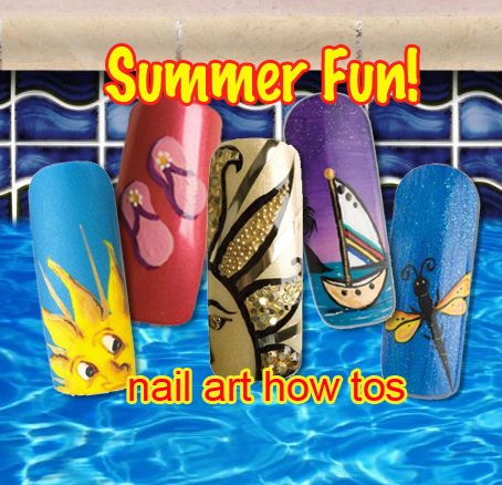 Nail Art How To: Summer Fun!