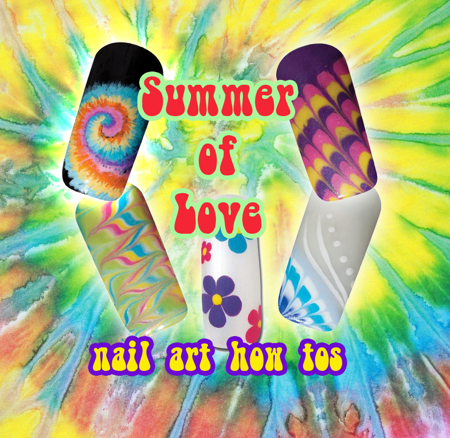 Nail Art How To: Summer of Love
