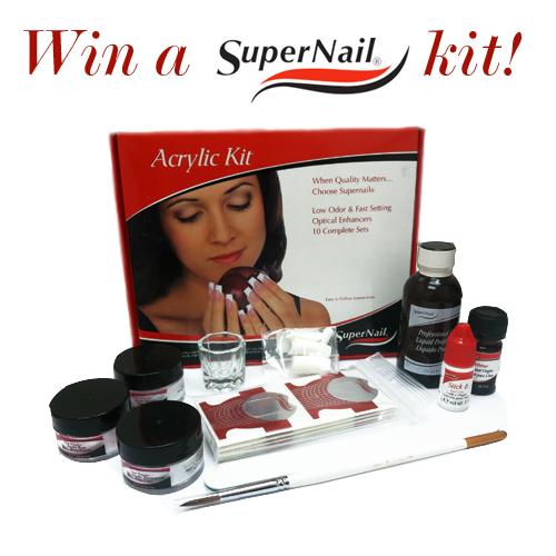 Giveaway: Win A Supernail Acrylic Kit