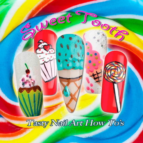 Nail Art How To: Sweet Tooth
