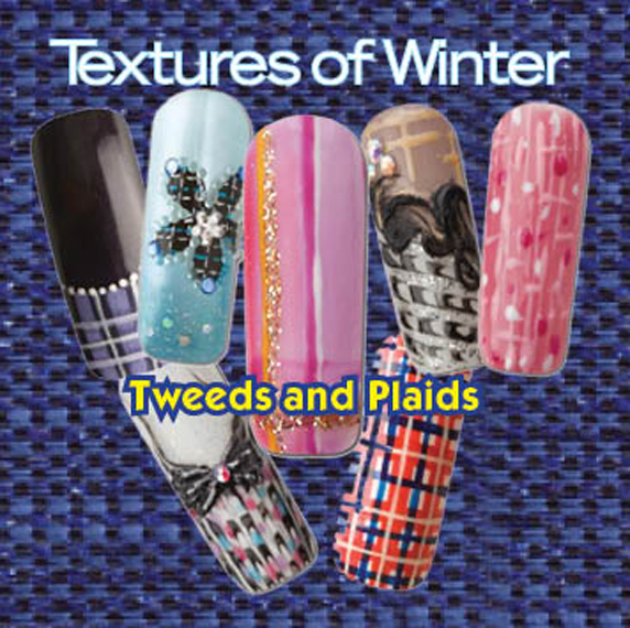 Nail Art How To: Textures of Winter
