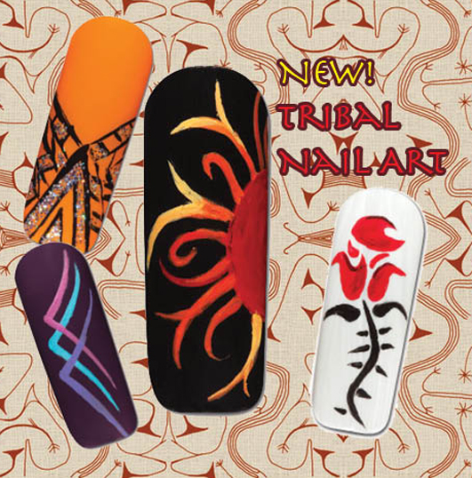 Nail Art How To: Tribal Nail Art!