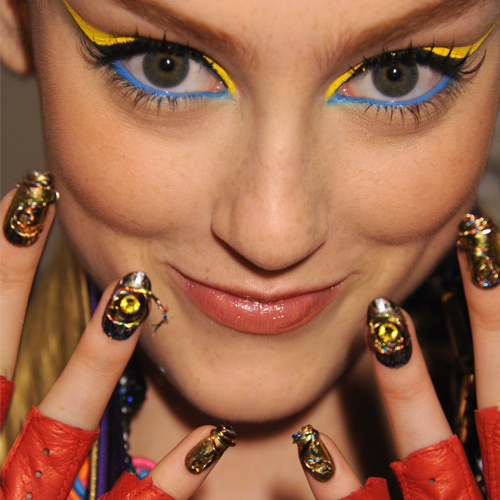Exclusive Interview: Backstage With CND At The Blonds