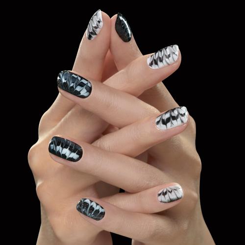 Nail Art Tutorial: Marble Design With Gel Polish