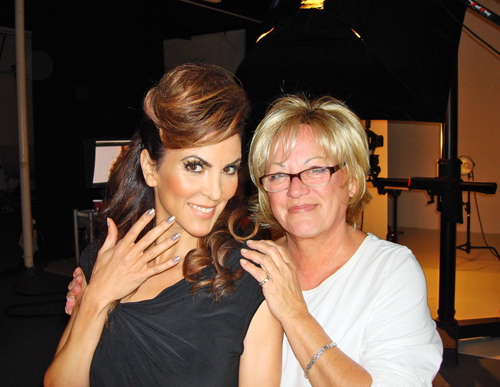 Nail News: Vicki Peters Manicures Leading Hand Model Adele Uddo