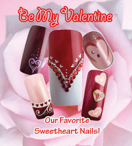 Nail Art How To: Valentine