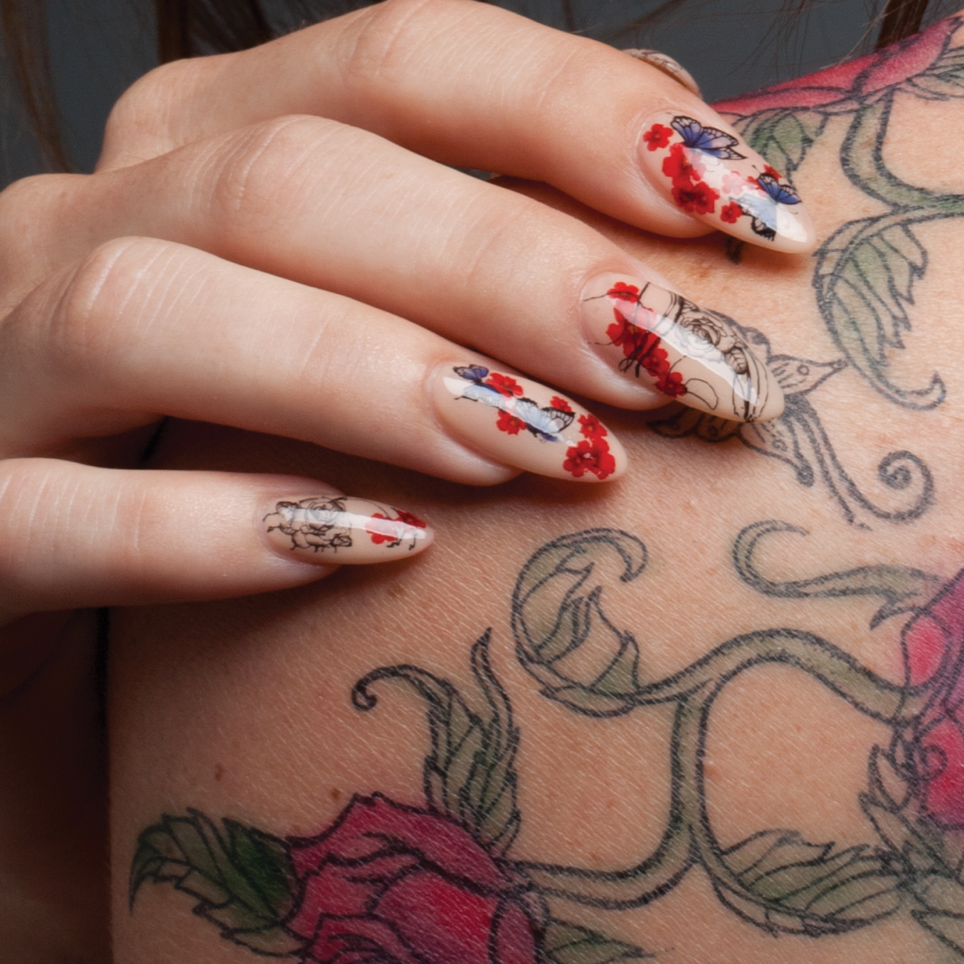 Nail art tutorial tattoo nail designs and how to do them prinsesfo Image collections