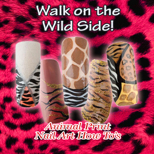 Nail Art How To: Walk on the Wild Side