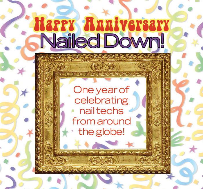 Happy Anniversary Nailed Down!