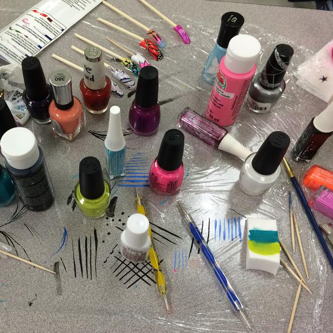 The Nail School Diaries: Part 7: Nail Art Time!