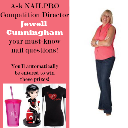 Ask Jewell Your Nail Questions and Win Nail Tech Swag!
