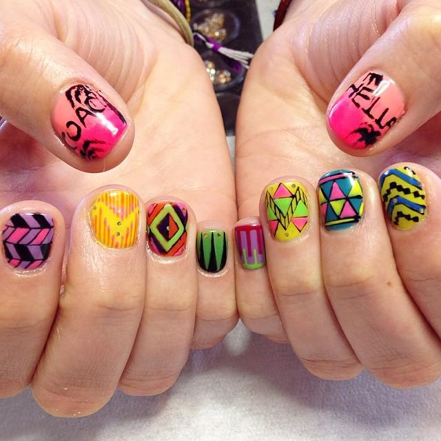 Nail Art: Music Festival Nails