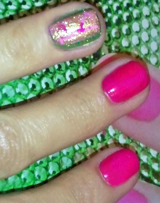 Scented Polish Manicure