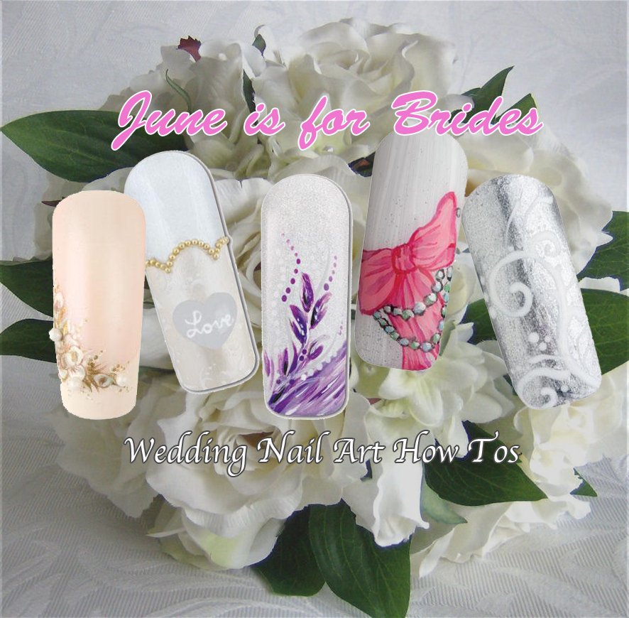 Nail Art How To: June is for Brides