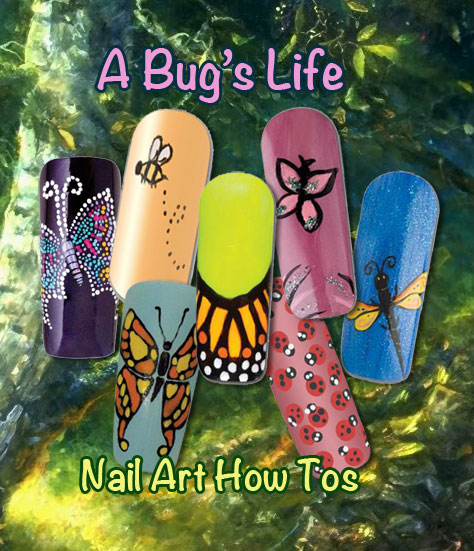 Nail Art How To: A Bug