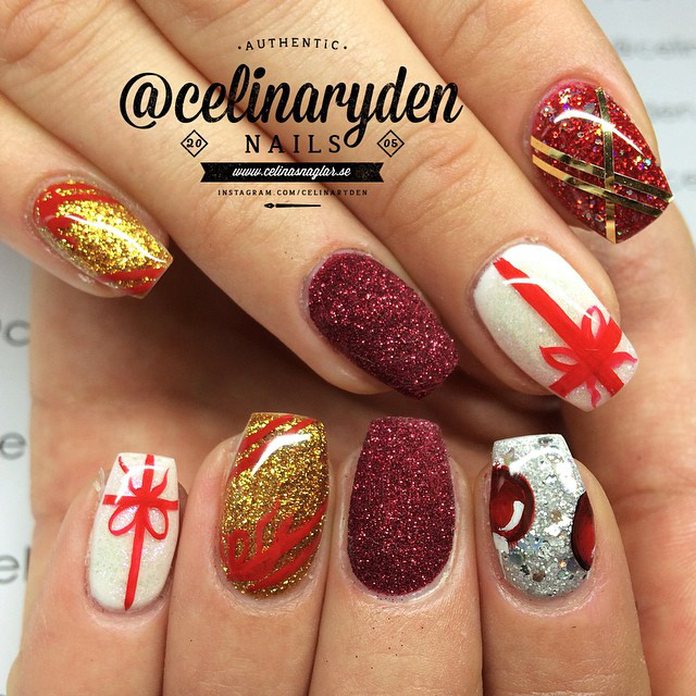 Gallery: Winter and Holiday Nail Art
