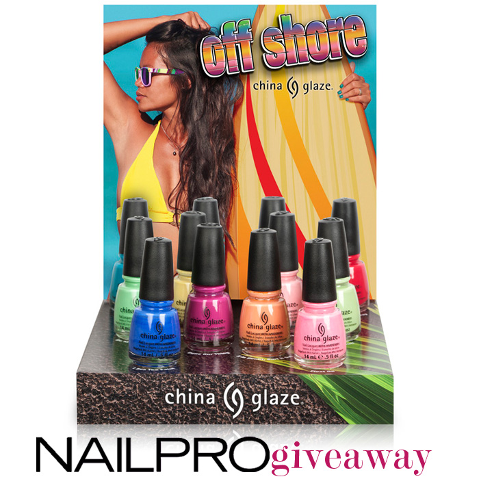 Giveaway: Win China Glaze Off Shore
