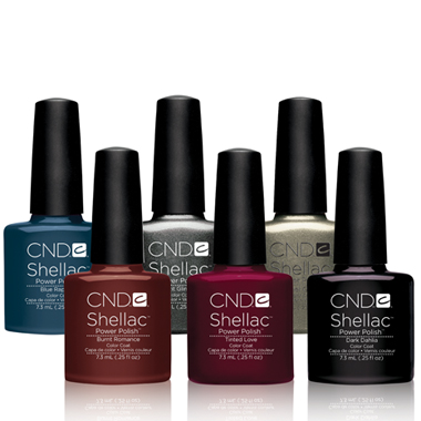 Nail Products: 6 New CND Shellac Colors for Fall!