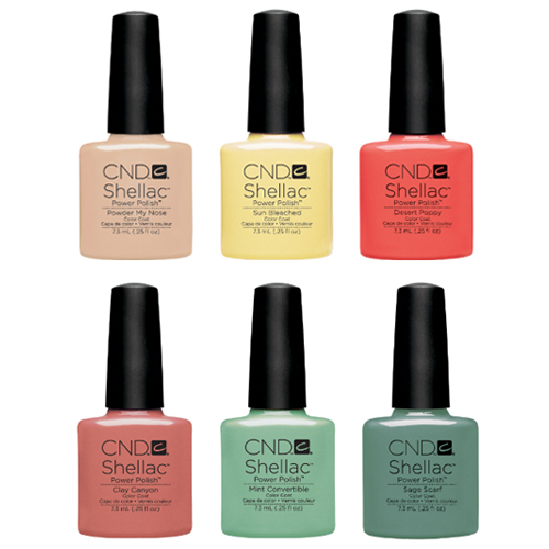 CND Open Road Collection: Shellac, Vinylux, and Additives