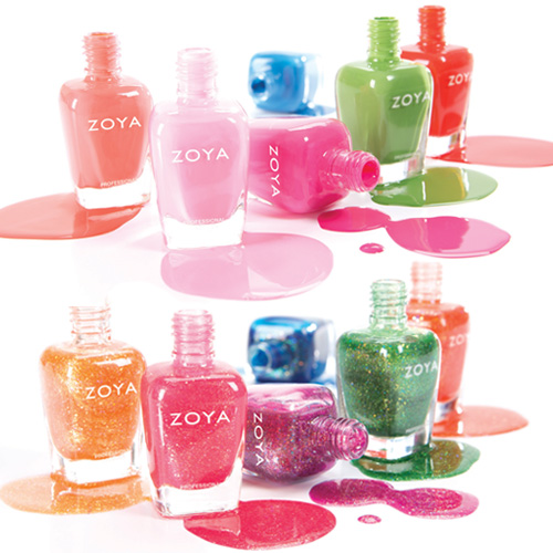 Zoya Tickled and Bubbly Collections