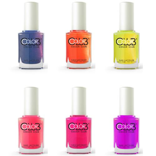 Go Bright or Go Home with Color Club Poptastic