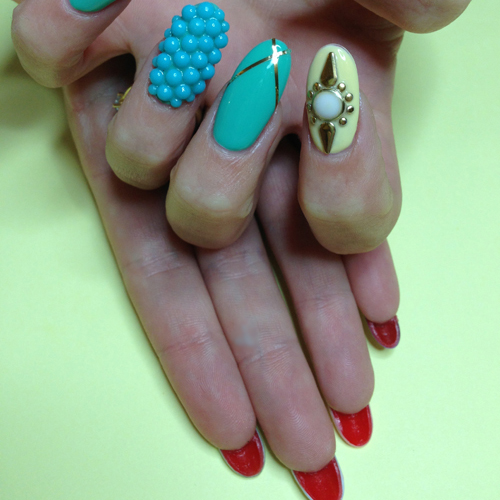 Nail Art Tutorial: Spring Louboutin Nails