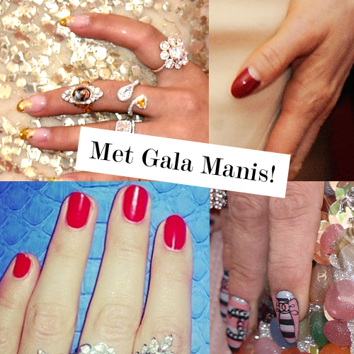 Nails Of The 2014 Met Gala