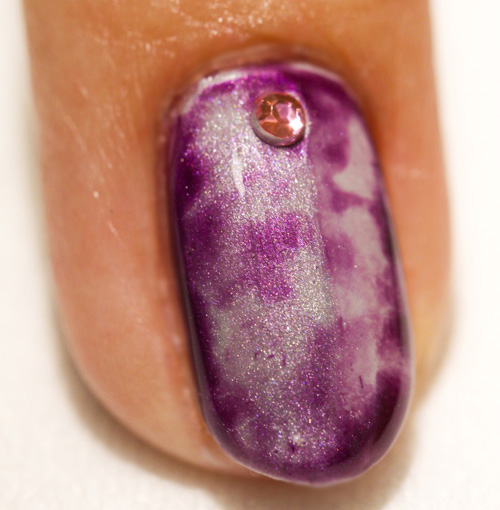 Nail Art Tutorial: Tie-Dye with Shellac