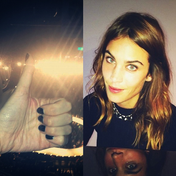 Our Favorite Nails from Alexa Chung