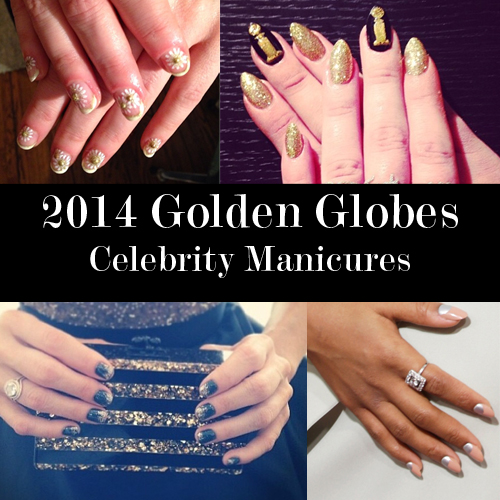 The Best Nails From The 2014 Golden Globes