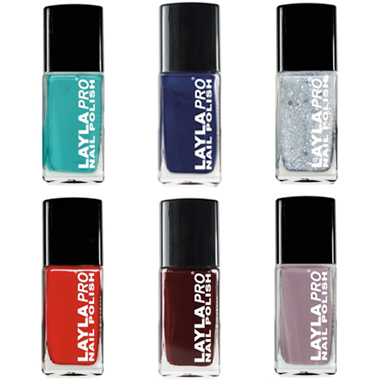 Nail Products: Layla Pro Debuts as New Professional Polish