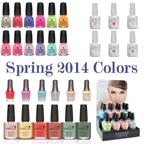 13 Top Spring Polish And Gel Collections