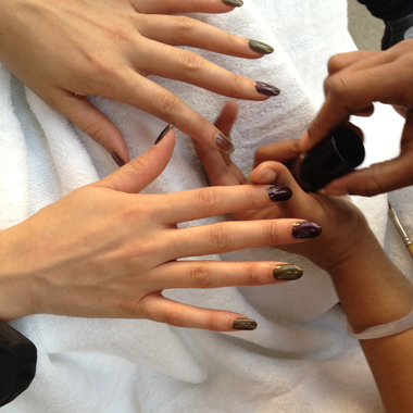 Cult Nails Featured at Ann Yee Fall 2012 Presentation