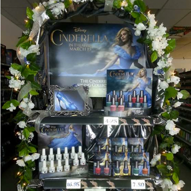 Cinderella Endcap Contest Winners Receive Royal Movie Premiere Experience