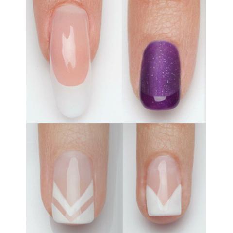10 French Manicure Tutorials