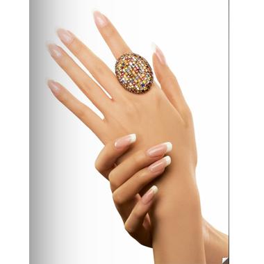 Nail Design Tutorial: Acrylic French Nails