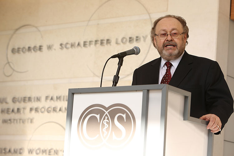 Cedars-Sinai Advanced Health Sciences Pavilion, with Lobby Named after George Schaeffer, Opens