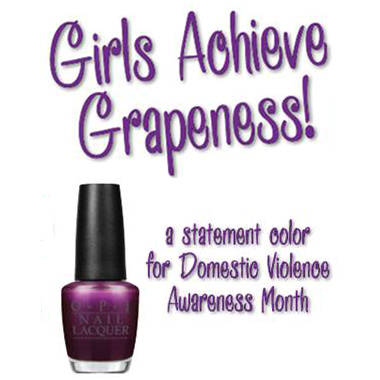 Nail Products: OPI Girls Achieve Grapeness