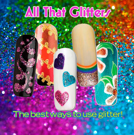 Nail Art How To: All that Glitters!