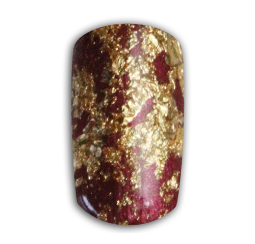 Nail Art How To: Holiday Gold Foil Nails