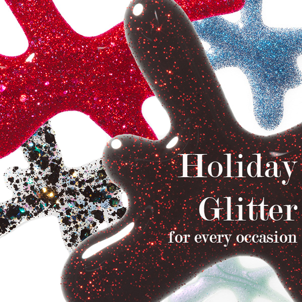5 Holiday Glitters and When to Wear Them