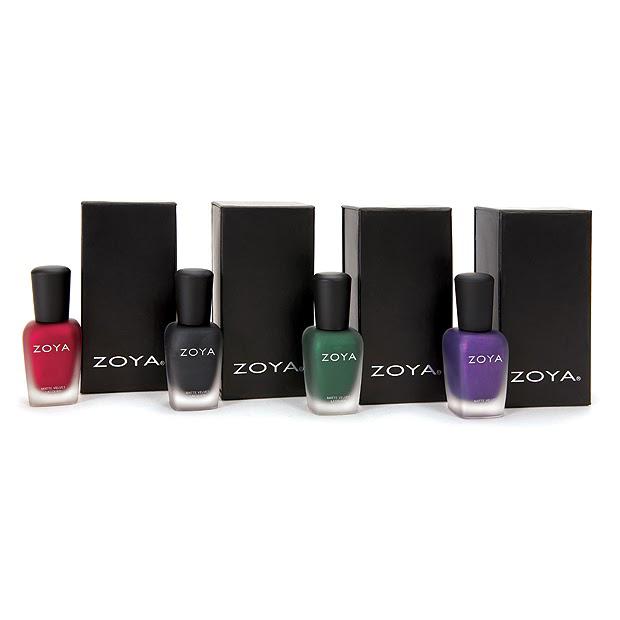 Zoya Matte Velvet Has Returned For The Holidays