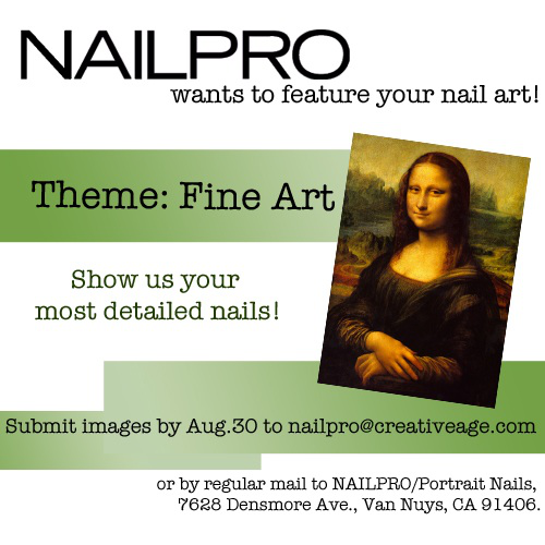Submit Your Nail Art to NAILPRO Magazine!